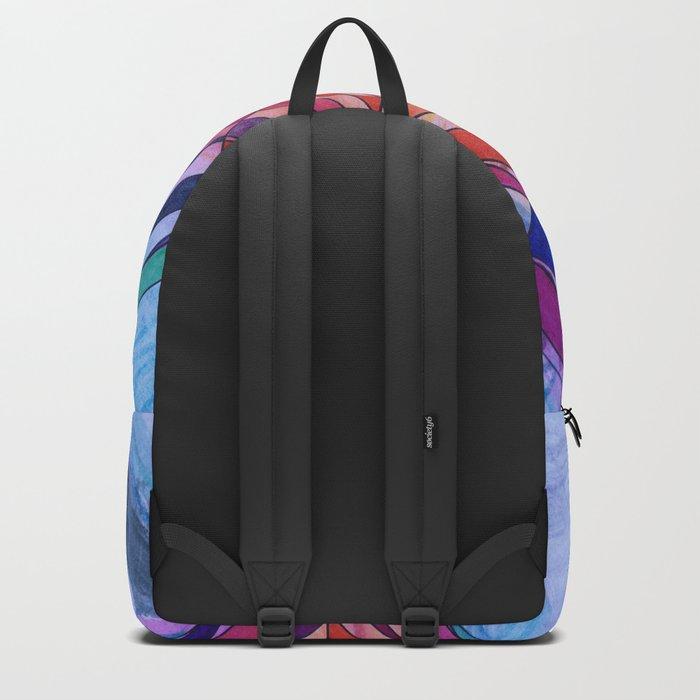 Diamond Web Backpack