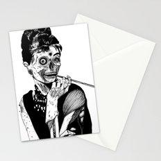 Zombie at Tiffany's Stationery Cards