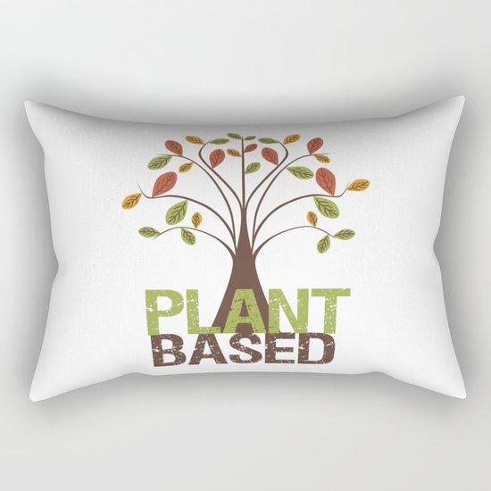 Plant Based Fall Tree Rectangular Pillow
