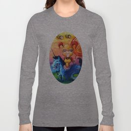 The Candy Warrior Long Sleeve T-shirt