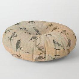 Birdies  Floor Pillow