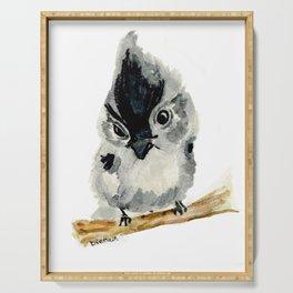 Judgy Little Bird Serving Tray