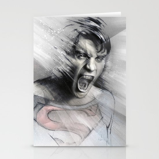 Superheroes SF Stationery Cards