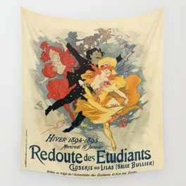 Vintage poster - Redoute des Etudiants Wall Tapestry