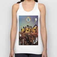 hollywood Tank Tops featuring hollywood  by Edouard Campos