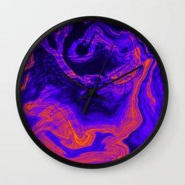 Oil Study 01 Wall Clock
