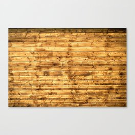 Grunge Rustic Wood pattern Canvas Print