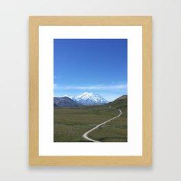 Mount Denali Framed Art Print