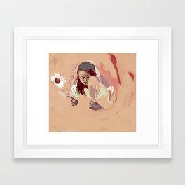 The Ship Stinker  Framed Art Print