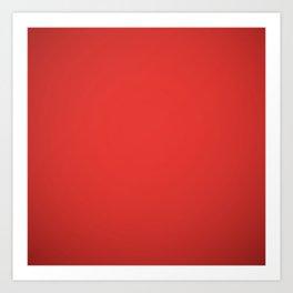 Christmas Red Art Print