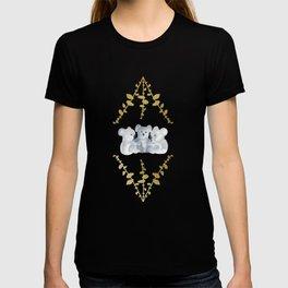 Koalas in Gold T-shirt
