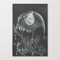 venom Canvas Prints featuring venom by Dan Solo Galleries