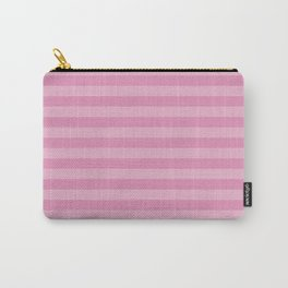 Stripes (Parallel Lines, Striped Pattern) - Pink Carry-All Pouch