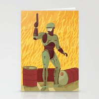 robocop Stationery Cards featuring Robocop by James White