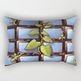 Technology Vs Nature  Rectangular Pillow