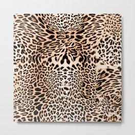Wild Leopard Metal Print