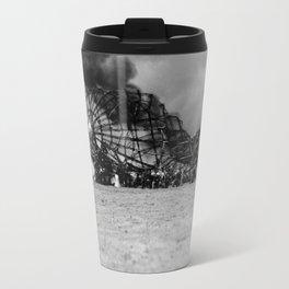 Zeppelin crash (Hindenburg) Travel Mug