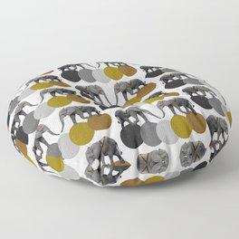 Tribal Elephants Floor Pillow