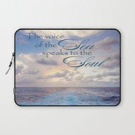 Voice of the Sea Laptop Sleeve