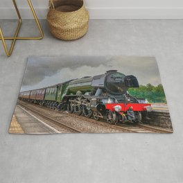 The Flying Scotsman Rug