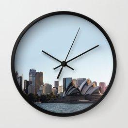 Sunrise Sydney Wall Clock