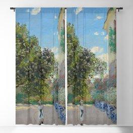 "Claude Monet ""The Artist's House at Argenteuil"" Blackout Curtain"