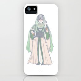 the woman behind the throne iPhone Case