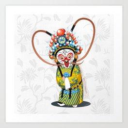 Beijing Opera Character   Monkey King Art Print