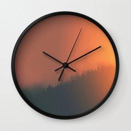 Dusk Dreaming Wall Clock
