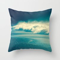 sparkle Throw Pillows featuring Sparkle by Ryan Fernandez Photography