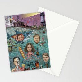 If Not For Love I Would Be Drowning Stationery Cards