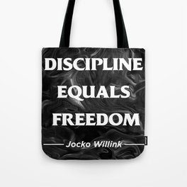 Discipline Tote Bag