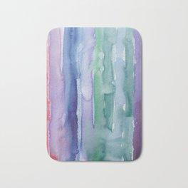 29     190907   Watercolor Abstract Painting Bath Mat