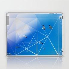 Gulls in Hexagram Flight Laptop & iPad Skin