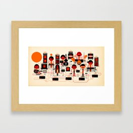 ONJO Live At Luchtbal Framed Art Print