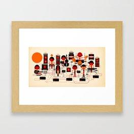 ONJO Live At Luchtbal Framed Art Print