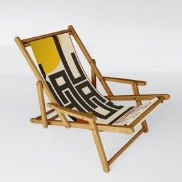 Bauhaus Poster Sling Chair
