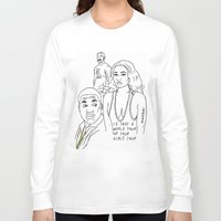 nicki Long Sleeve T-shirts featuring World tour by sosvart