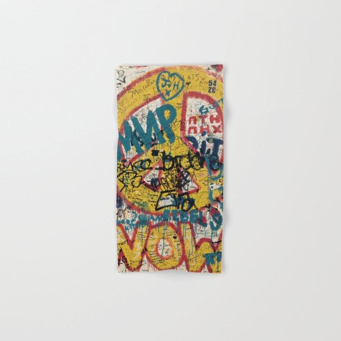 the Berlin wall Hand & Bath Towel