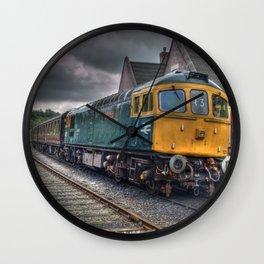 Type 33 locomotive Wall Clock