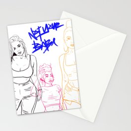 NOT YOUR BABE Stationery Cards