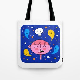 Thought Ghosts Tote Bag