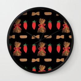Pasta & Pomodori Wall Clock