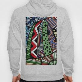IT'S RAINING COLORS! (abstract tribal) Hoody