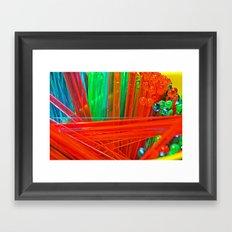 BOOM V Framed Art Print