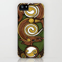 Celtic Rythm iPhone Case