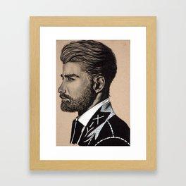 Skip Framed Art Print