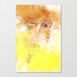 Stealth portrait Canvas Print