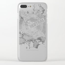 d20 True Neutral Alignment Clear iPhone Case