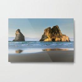 Beachy reflections Metal Print